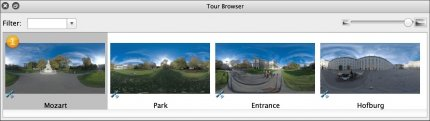Tour Browser.