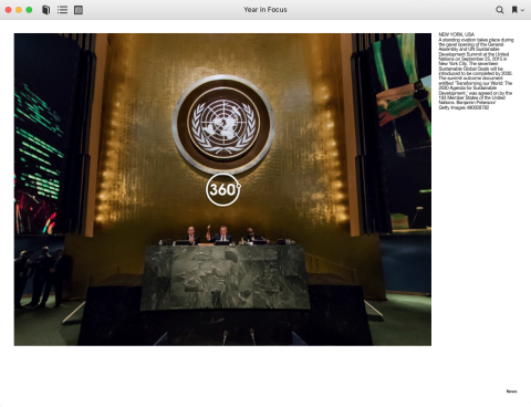 Panorama in iBooks - Getty Images