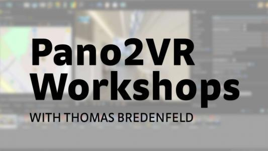 Pano2VR Workshops with Thomas Bredenfeld