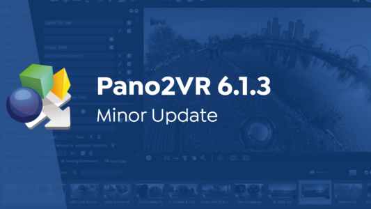 Pano2VR 6.1.3 Released