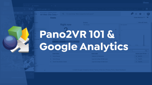 Pano2VR 101 and Google Analytics