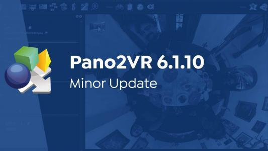 Pano2VR 6.1.10 Released