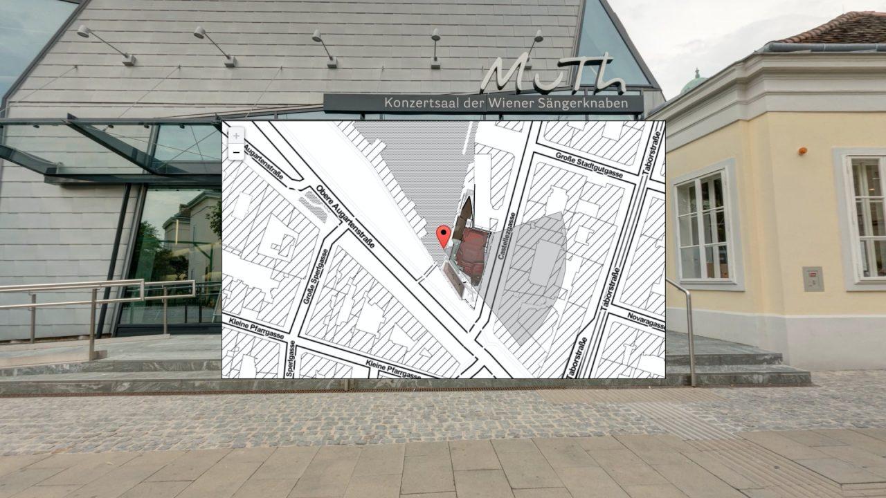 Floor Plan in Map
